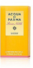 Düfte, Parfümerie und Kosmetik Acqua Di Parma Rosa Nobile Leather Purse Spray Refills - Duftset (Eau de Parfum 3x20ml)