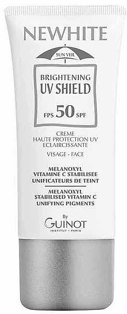 Aufhellende Sonnenschutzcreme für das Gesicht LSF 50 - Guinot Newhite Brightening Uv Shield SPF 50 — Bild N1
