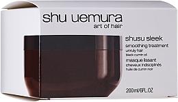 Düfte, Parfümerie und Kosmetik Glättende Maske für widerspenstiges Haar - Shu Uemura Art Of Hair Shusu Sleek Smoothing Treatment