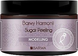 Düfte, Parfümerie und Kosmetik Modellierendes Zucker-Körperpeeling - Barwa Harmony Sugar Peeling Modelling