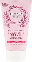 Düfte, Parfümerie und Kosmetik Feuchtigkeitsspendende Reinigungscreme für das Gesicht mit Preiselbeerwasser - Lumene Moisturizing Cleansing Cream