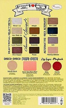 Make-up Set - TheBalm Balm Jovi Rockstar Face Palette — Bild N3