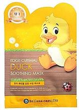 Düfte, Parfümerie und Kosmetik Tuchmaske für Gesicht Ente - Belleza Castillo Edge Cutimal Duck Soothing Mask