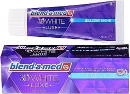 Düfte, Parfümerie und Kosmetik Zahnpasta 3D White Luxe Healthy Shine - Blend-a-med 3d White Healthy Shine Toothpaste