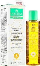 Düfte, Parfümerie und Kosmetik Straffendes Körperöl mit Safran und Ingwer - Collistar Precious Body Oil Firms Nourishes Tones