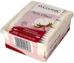 Wattestäbchen 200 St. - Cleanic Pure Effect — Bild N2
