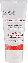 Düfte, Parfümerie und Kosmetik Körpercreme bei leichtem Sonnenbrand und thermischen Verbrennungen - Sostar After Burn Cream