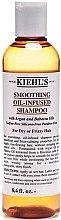 Düfte, Parfümerie und Kosmetik Glättendes Shampoo für trockenes und widerspenstiges Haar mit Argan- und Babassuöl - Kiehl's Smoothing Oil-Infused Shampoo