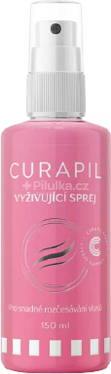 Pflegendes Entwirrungsspray für das Haar mit Keratin - Curapil — Bild N1