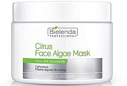 Düfte, Parfümerie und Kosmetik Gesichtsmaske mit Zitrusöl und Algen - Bielenda Professional Citrus Face Algae Mask