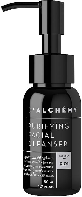 Gesichtsreinigungsgel - D'Alchemy Puryfying Facial Cleanser — Bild N1