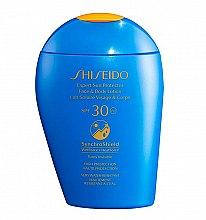 Düfte, Parfümerie und Kosmetik Sonnenschutzlotion für Gesicht & Körper LSF 30 - Shiseido Expert Sun Protection Face and Body Lotion SPF30
