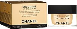 Düfte, Parfümerie und Kosmetik Regenerierende Creme für die Augenpartie - Chanel Sublimage Eye Cream