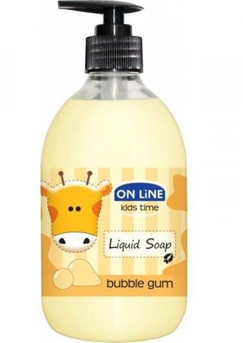 Flüssigseife mit Kaugummiduft für Kinder - On Line Kids Time Liquid Soap Bubble Gum — Bild N1