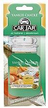 Düfte, Parfümerie und Kosmetik Papier-Lufterfrischer Alfresco Afternoon - Yankee Candle Car Jar Alfresco Afternoon