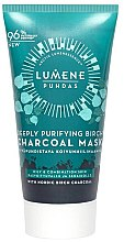 Düfte, Parfümerie und Kosmetik Tiefenreinigende Gesichtsmaske mit Birkenkohle - Lumene Puhdas Deeply Purifying Birch Charcoal Mask