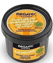 Düfte, Parfümerie und Kosmetik Modellierende Körpercreme für Taille mit Bienenwachs und Orange-Extrakten - Organic Shop Organic Kitchen Corsetcream