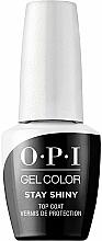 Düfte, Parfümerie und Kosmetik Gel Nagelüberlack - O.P.I. Gel Stay Shiny Top Coat