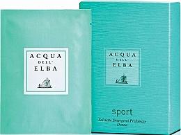 Düfte, Parfümerie und Kosmetik Acqua Dell Elba Sport - Parfümierte Tücher