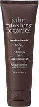 Düfte, Parfümerie und Kosmetik Regenerierende Haarmaske mit Honig und Hibiscus - John Masters Organics Honey & Hibiscus Hair Reconstructor