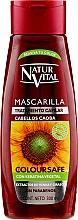 Düfte, Parfümerie und Kosmetik Haarmaske mit Keratin, Henna und Sonnenblumen-Extrakt für Mahagoni-Haaren - Natur Vital Coloursafe Henna Hair Mask Mahogony Hair