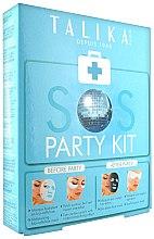 Düfte, Parfümerie und Kosmetik Schönheitsset - Talika SOS Party Kit (Tuchmaske/20g + Augenpatches/2St. + Tuchmaske/25g + komprimierte Augenaske/3ml)