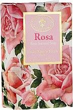 Naturseife mit Rosenblütenduft - Saponificio Artigianale Fiorentino Masaccio Rose Soap — Bild N1