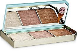 Highlighter-Palette - Too Faced Tutti Frutti Triple Scoop Hyper-Reflective Highlighting Palette — Bild N3
