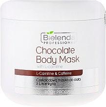 Düfte, Parfümerie und Kosmetik Schoko Körpermaske mit L-Carnitin - Bielenda Professional Chocolate Body Mask