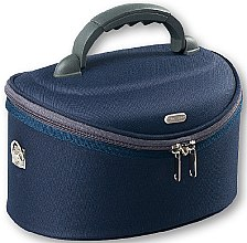Düfte, Parfümerie und Kosmetik Kosmetiktasche dunkelblau 95061 oval - Top Choice Oval Navy