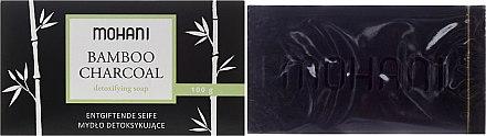 Entgiftende Gesichtsseife mit Bambus und Aktivkohle für fettige und unreine Haut - Mohani Bamboo Charcoal Detoxifying Soap — Bild N1