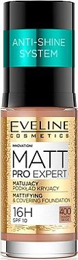 Mattierende Foundation - Eveline Cosmetics Matt Pro Expert — Bild N1