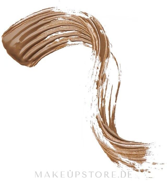 Definierendes Augenbrauengel für mehr Volumen - Makeup Revolution Pro Brow Volume And Sculpt Gel — Bild Ash Brown