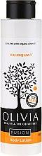 Düfte, Parfümerie und Kosmetik Körperlotion mit Kumquatextrakt - Olivia Beauty & The Olive Fusion Body Lotion Kumquat