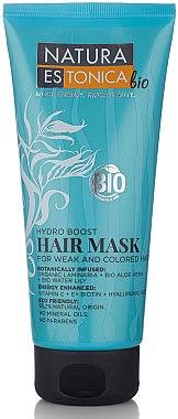 Feuchtigkeitsspendende Haarmaske für gefärbtes und geschwächtes Haar - Natura Estonica Hydro Boost Hair Mask — Bild N1