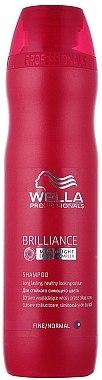 Farberhaltendes Shampoo für feines bis normales coloriertes Haar - Wella Professionals Brilliance Shampoo — Bild N1