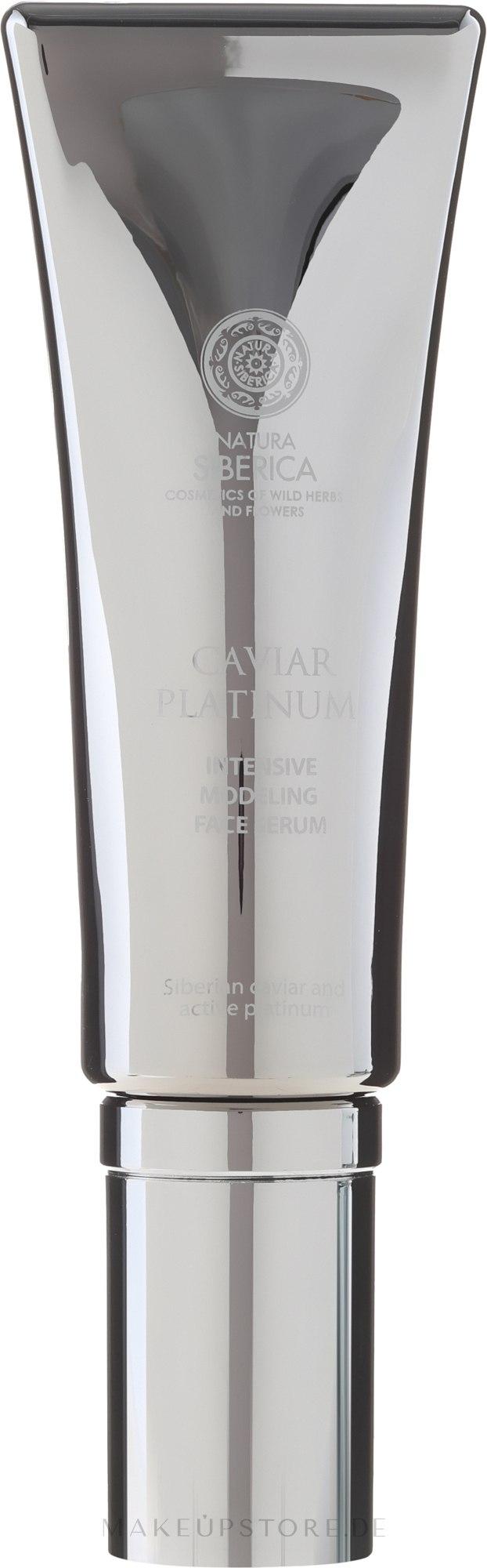 Intensives Modellierserum gegen tiefe Falten - Natura Siberica Caviar Platinum — Bild 30 ml