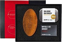 Düfte, Parfümerie und Kosmetik Bartpflegeset - Zew For Men (Bartbalsam 80 ml + Bartseife 85ml + Bartbürste)