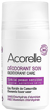Bio Deo Roll-on mit Mandel und Kamille - Acorelle Deodorant Care — Bild N1