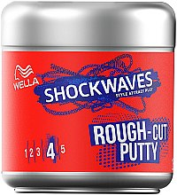 Düfte, Parfümerie und Kosmetik Modellierendes Haargel für einen Out-Of-Bed-Look Extra starker Halt - Wella Pro Shockwaves Rough-Cut Putty