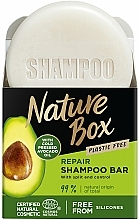Düfte, Parfümerie und Kosmetik Festes Shampoo mit Avocadoöl - Nature Box Avocado Dry Shampoo