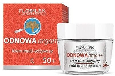 Pflegende Nachtcreme 50+ - Floslek Multi-nourishing cream 50+ — Bild N1