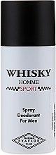 Düfte, Parfümerie und Kosmetik Evaflor Whisky Homme Sport - Deospray