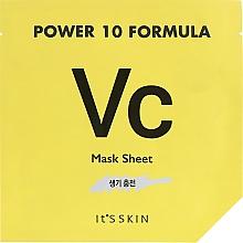 Düfte, Parfümerie und Kosmetik Tuchmaske für Gesicht - It's Skin Power 10 Formula Mask Sheet VC