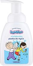 Düfte, Parfümerie und Kosmetik Hand- und Körperreinigungsschaum für Kinder blau - Nivea Bambino Kids Bath Foam Blue
