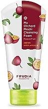 Düfte, Parfümerie und Kosmetik Gesichtsreinigungsschaum mit Passionsfrucht - Frudia My Orchard Passion Fruit Mochi Cleansing Foam