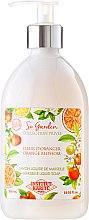 """Düfte, Parfümerie und Kosmetik Flüssigseife """"Orangenblüte"""" - Institut Karite So Garden Collection Privee Orange Blossom Marseille Liquid Soap"""