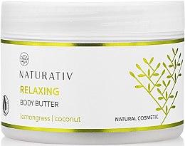 Düfte, Parfümerie und Kosmetik Zitronengrass Körperbutter mit glättender Wirkung - Naturativ Relaxing Body Butter Lemongrass