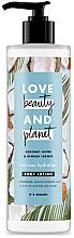 Düfte, Parfümerie und Kosmetik Körperlotion mit Kokosnusswasser und Mimosenblütenduft - Love Beauty&Planet Luscious Hydration Body Lotion
