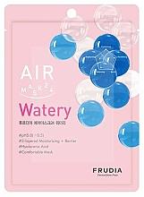 Düfte, Parfümerie und Kosmetik Tief feuchtigkeitsspendende Tuchmaske mit Hyaluronsäure - Frudia Air Mask 24 Watery